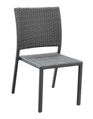 STEEL WICHER CHAIR NATURAL
