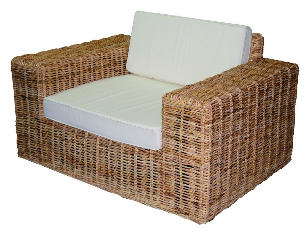 SINGLE SOFA IN KOOBO NATURAL