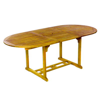 ACACIA OVAL EXTENDIBLE TABLE