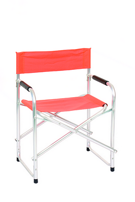 DIRECTOR CHAIR ALUMINUM TUBE DIAM. 25 CM. 47X55X78H - WITH POLYESTER ORANGE �