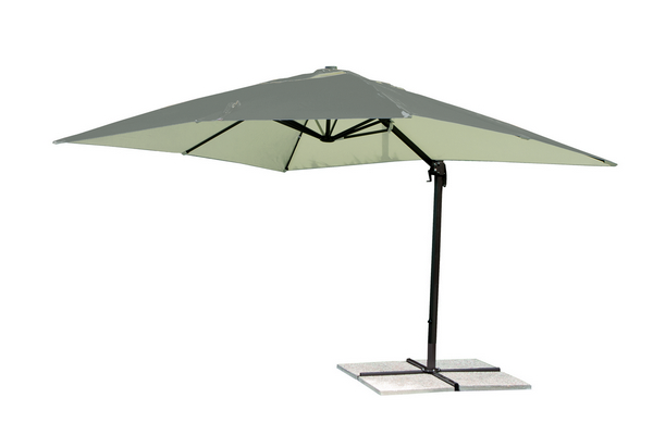 ALUMINIUM HANGING UMBRELLA