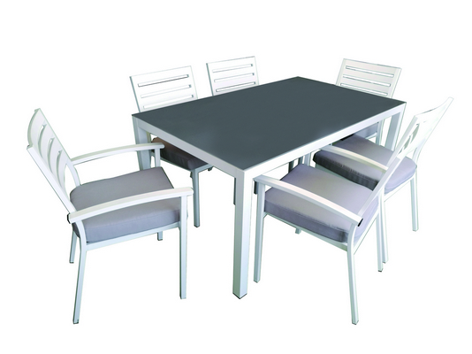 ALUMINIUM LUNCH SET WITH CUSHION
